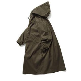 【美品】LENO HOODED COATカーキ size2(モッズコート)